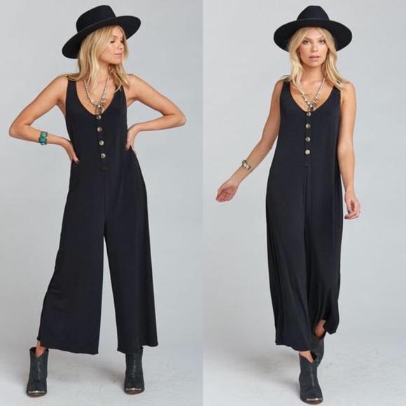 Show Me Your MuMu Pants & Jumpsuits | Goulding Jumpsuit Black ...